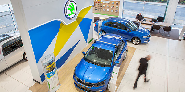 The flexible Skoda retail concept